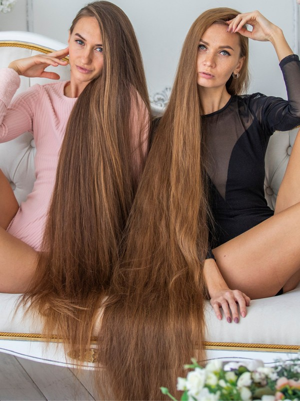 PHOTO SET - Super long hair enthusiasts photoshoot