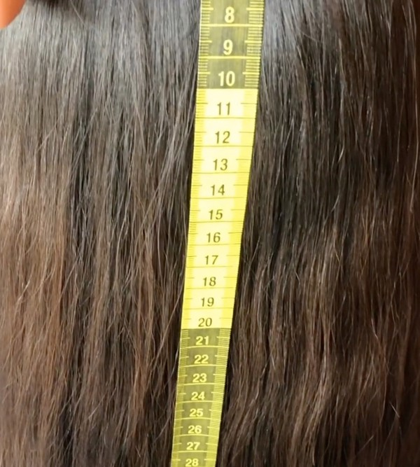 VIDEO - Thick mane measurement