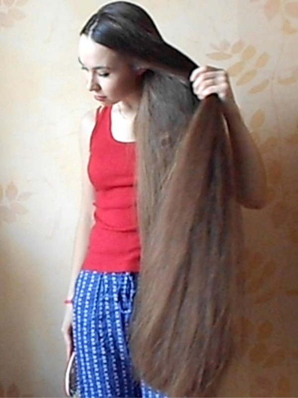 VIDEO - Superthick hair