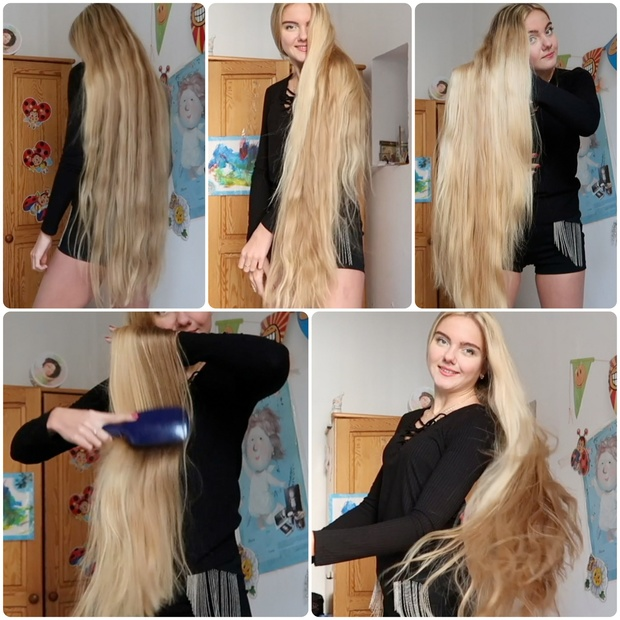VIDEO - Mariia, the blonde