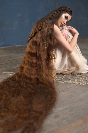 PHOTO SET: Sea of Hair (Aliia photoshoot)