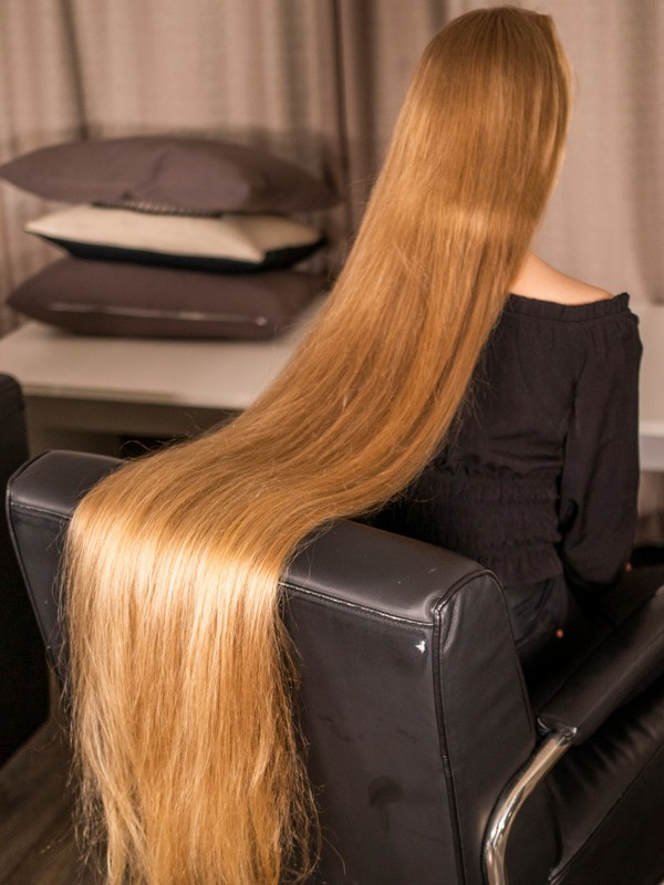 PHOTO SET - Perfect hair sliding photoshoot