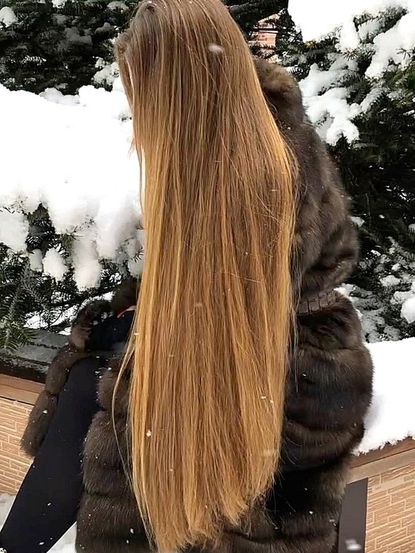 VIDEO - Rapunzel in the snow