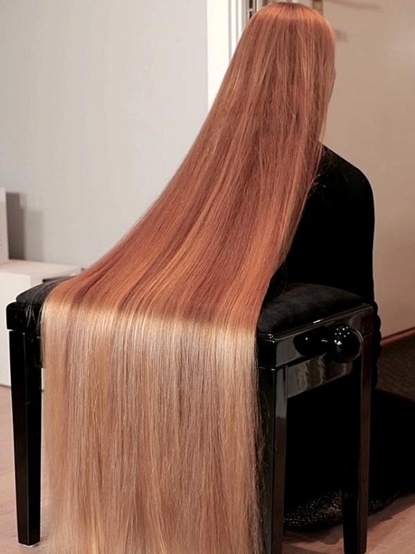 VIDEO - Perfect long hair sliding