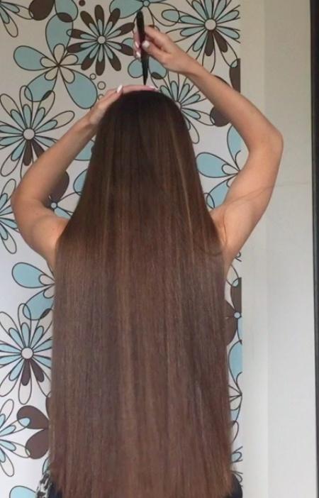 VIDEO - Parting classic length hair + braid (Part 1)