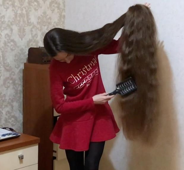 VIDEO - Folded hair