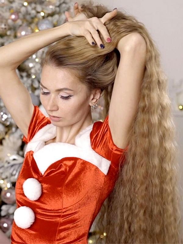 VIDEO - Rapunzel Christmas