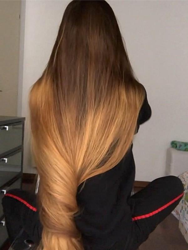 VIDEO - Ottavia's freshly trimmed hair