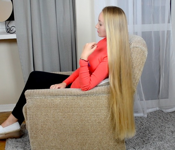 VIDEO - Premium classic length blonde hair special edition (part 1)