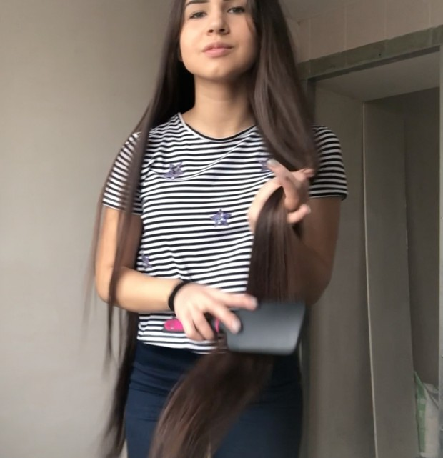 VIDEO - Supersilk, pigtails and a braid