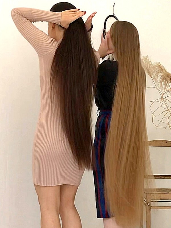 VIDEO - Combined hair duo