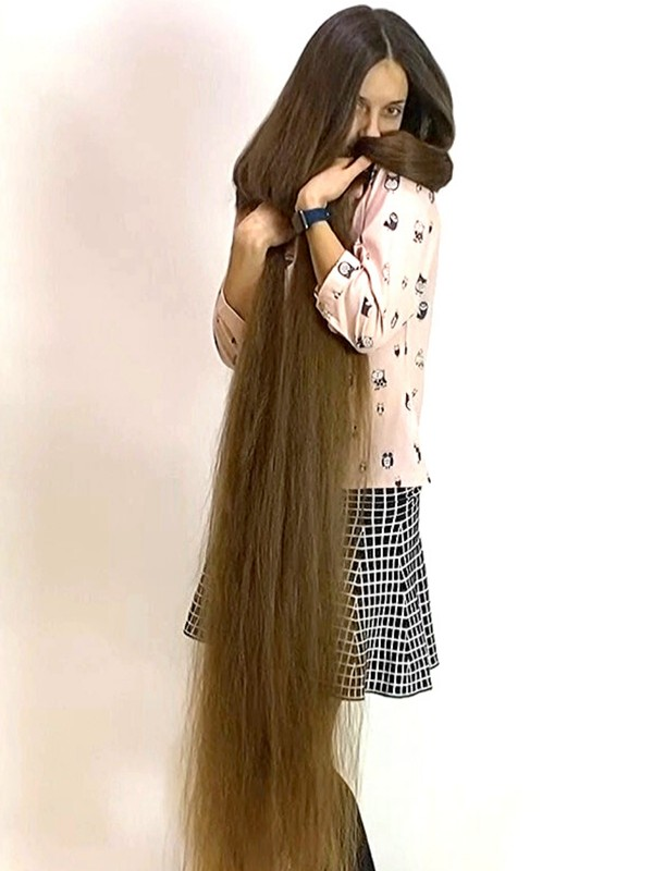 VIDEO - Ultra long and silky soft hair