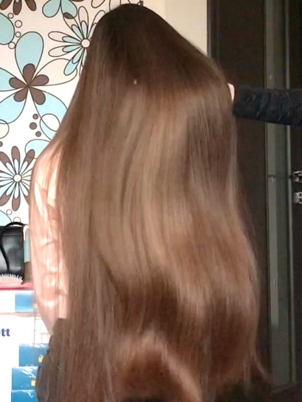 VIDEO - Irina´s hair is a dream