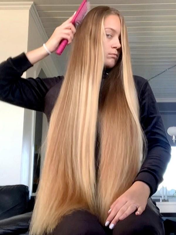 VIDEO - Long Norwegian hair