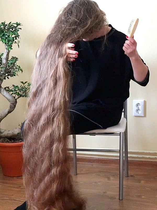 VIDEO - From massive braid to tons of silk