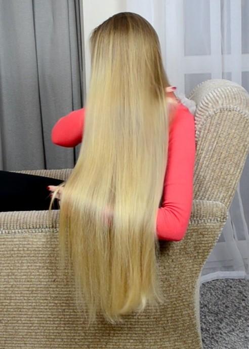 VIDEO - Premium classic length blonde hair special edition (part 2)