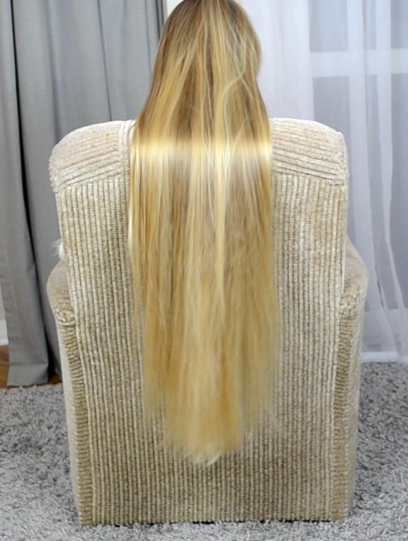 VIDEO - Premium classic length blonde hair special edition (part 1)