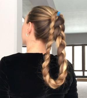 VIDEO - Folded hair 2