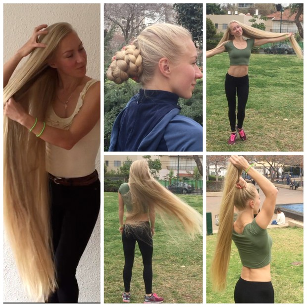 VIDEO - Top quality hair 3 - Fitness Rapunzel
