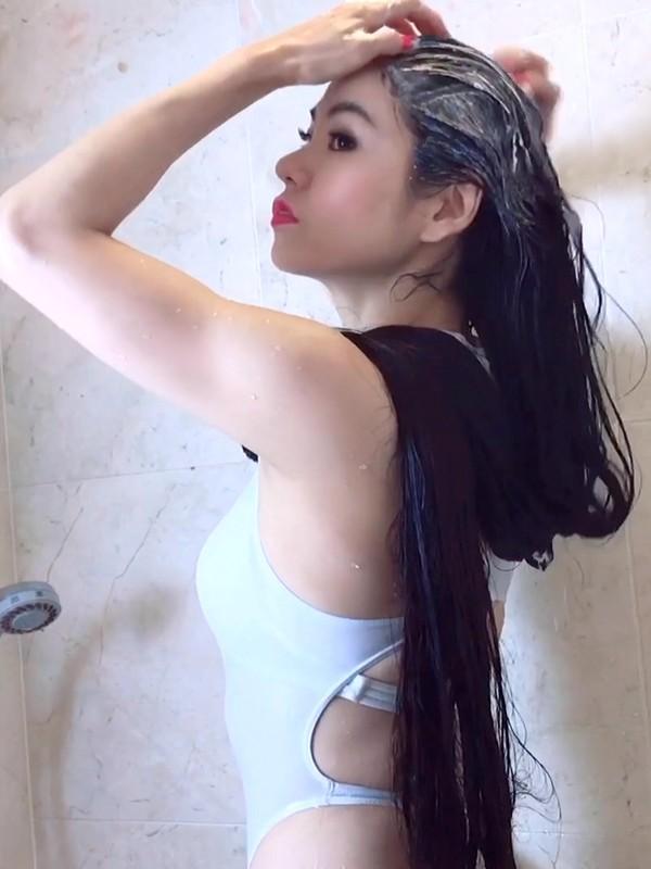 VIDEO - Rin's hair wash