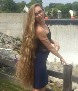 MOBILE VIDEO - Rapunzel by the waterfall