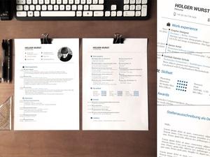 Application Documents Template v01 (CV/Resume/Cover letter)
