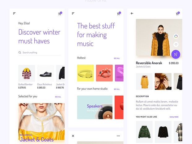Unveile iOS UI Kit for Sketch - by Yebo