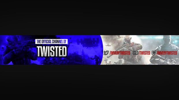 youtube gaming banner channel art itsultimatedani