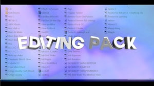 Restrict's Editing Pack!