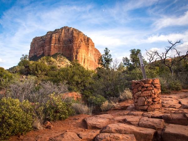 Sedona, Arizona - Red Rocks - Courthouse Butte