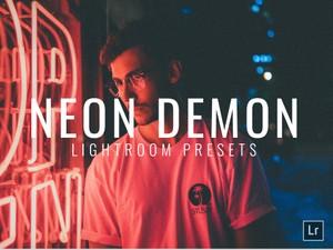 4 NEON FILMLOOK LIGHTROOM PRESETS