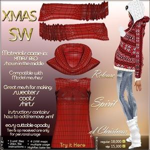 Xmas Sweater IMVU MESH