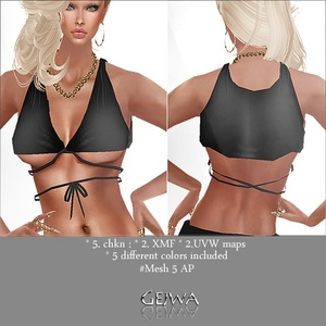 Mesh #5 TOP AP with  IMVU MESH & 5 TEXTURES