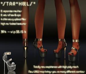Star Heels Full Pack IMVU MESH