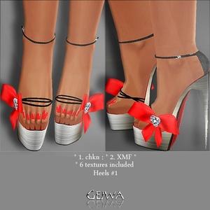 Heels #1 IMVU MESH & TEXTURES