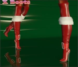 X Boots Full Pack IMVU Mesh