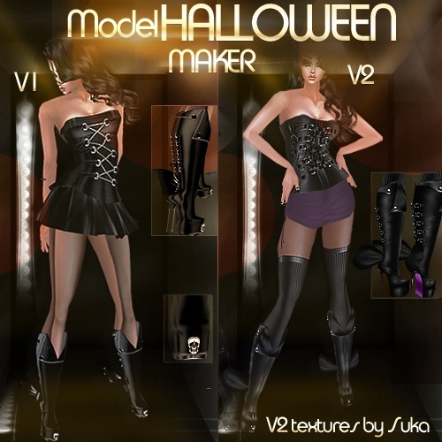 ☠MODEL Halloween Maker☠ IMVU MESHES & TEXTURES