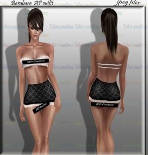 Barbara AP Texture Set Full Pack IMVU TEX