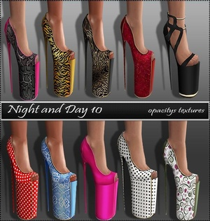 Day & Night Texture Set Full Pack IMVU TEX
