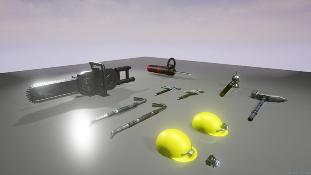UE4 Sci-Fi Industrial Tools