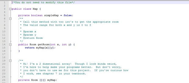 Interactive Fiction Game in Java | Adventure Game | Java Assignments Help | ALgorithm