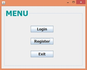 Lock Up Tite user authentication program in Java GUI