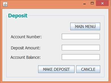 Banking System in Java GUI - CS480 Final GUI Project