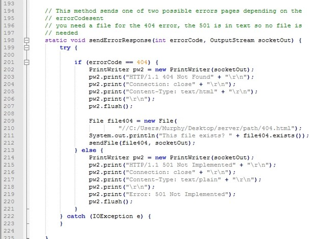 Java Project | Web server sending files to a web browser on request with full source code