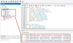Donuts shop database design ERD & implementation in MySQL