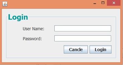 Lock Up Tite user authentication program in Java GUI