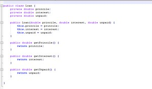 Extra Credit Assignment 3: Loan Calculator Java Implementation Source Code