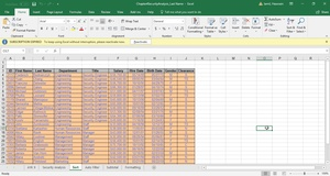 Security Analysis | Excel Exercise | Download Now