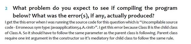 COP 2800 (Java Programming I) Homework Full Solution