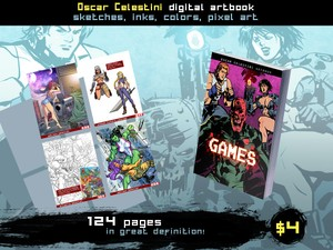 Oscar Celestini Digital Artbook GAMES